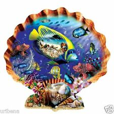 Souvenirs of the Sea 1000-Piece Jigsaw Puzzle Tropical Fish Clamshell Sunsout 12