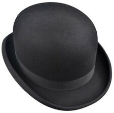CHRISTYS' LONDON 56CM 7 CH26 OLD FASHION DERBY FUR FELT BOWLER HAT UK ENGLAND