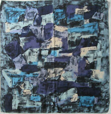 JEANNE LANVIN Castillo   Authentique  Foulard 100% soie  TBEG vintage 75 x 78 cm