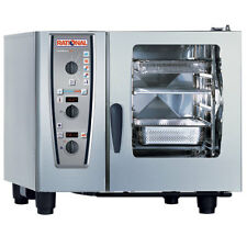 Rational Model 61 A619106.12.202, Electric Combi Oven with Six Half Size Sheet P