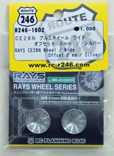 Kyosho R246-1602 RAYS CE28N Aluminum Wheel Wide / Silver (Offset 0mm)