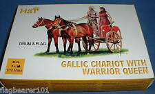 HAT 8140 - GALLIC CHARIOT WITH WARRIOR QUEEN - 1/72 SCALE
