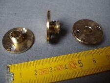 raccord mâle plaque 2 trous en laiton pas international diamètre 25 mm