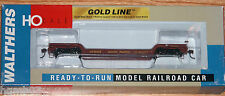 WALTHERS 932-7885 GOLD LINE 90 TON GSC DEPRESSED CENTER FLAT CAR UP 50005