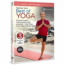 RODNEY YEE : BEST OF YOGA (3 programs)  (GAIAM)  - DVD - UK Compatible