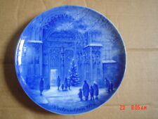 Berlin Design Danzas Germany Christmas Collectors Plate WEIHNACHTEN 1976