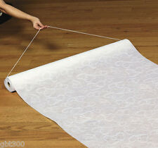 100 FT Heart Print Wedding AISLE RUNNER Long White Bridal Two Hearts Intertwined