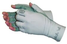 New Glacier Ascension Bay Sun Glove Poly Palm Fingerless 50+UP 007GP-L Lg