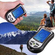 Digital LCD 8en1 Boussole Compas Thermomètre Température Altimètre Baromètre