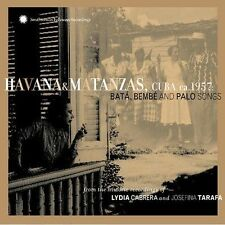 Havana and Matanzas, Cuba 1957: Bata, Bembe and Palo by Lydia Cabrera CD