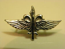 Israel army AUTHENTIC special infantry unit wings pin free worldwide shipping