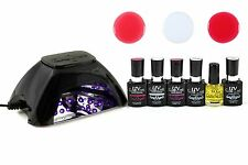UV Gel Polish Starter Kit with LED French Manicure Set