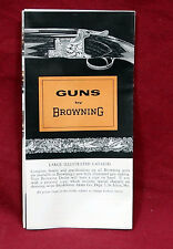 Browning 1950's Firearms Pocket Catalog w/Double Automatic/OU/A-5 Guns