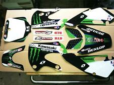 Klx 110 02-09 kx 65 02-16 Kawasaki Graphics only kit 1311-1 free decal sheet