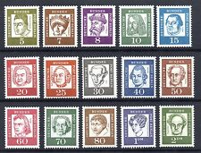 Germany BERLIN Famous Germans FULL SET MINT NEVER HINGED Pristine