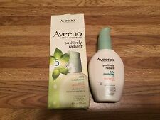 Aveeno Positively Radiant Daily Moisturizer, SPF 15  4 fl oz  Pump  Oil Free