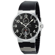 Ulysse Nardin Maxi Marine Automatic Black Dial Men Watch 263-66-3/62
