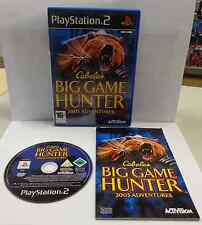 Play SONY Playstation 2 PS2 Play PAL - CABELA 'S BIG GAME HUNTER 2005 ADVENTURES