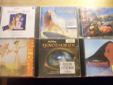 Disney [6 CD Bande originale] pocahontas Lion King Cars mary poppins Beauty Beast