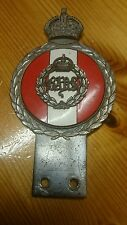 RARE VINTAGE CAR BADGE J.R.G GAUNT BADS