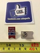 Montreal Canadiens Retired Banner Pin - Épinglette Larry Robinson #19 Jersey