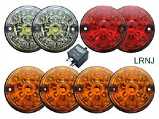 LAND ROVER SERIES 2 & SERIES 3 LED UPGRADE LAMPS KIT ( 73 mm LED style light )
