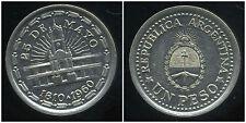 ARGENTINE 1 peso 1960  ( 25 de mayo )  ( bis )