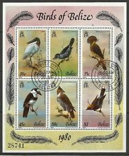 BELIZE. 1980. Birds Miniature Sheet. SG: MS567. Fine Used.