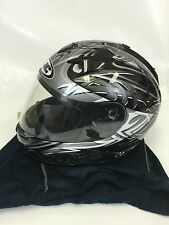 HJC IS-16 OTHOS Full Face Helmet Sun Shield Drop Down Visor Integrated Size S