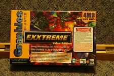 NEW Creative Graphics Blaster Exxtreme Permedia 2 3D PCI Video Card 4MB NOS
