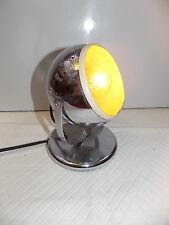 PETITE LAMPE DESIGN 1970 MÉTAL CHROME/VINTAGE LAMP 70'S/N°M62