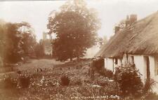 Etal Village RP pc used 1909 Crookham Auty 1357