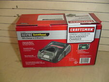 NEW CRAFTSMAN NEXTEC 12v LITHIUM BATTERY QUICK BOOST CHARGER  #29497