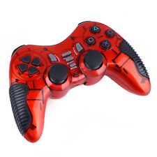 Dual Wireless 2.4G USB Shock Game Controller Joystick Playstation for PS2 PS3