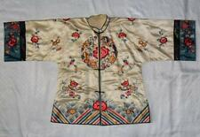 Qing Dynasty ? Chinese Silk Embroidered Robe Jacket Shirt