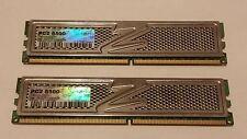 OCZ PLATINUM EDITION 4GB (2X2GB) PC2 8500 240PIN DDR2 MEMORY P/N: OCZ2P10664GK