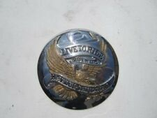 "Harley gas fuel tank cap Cover Medallion "" Live to Ride"""