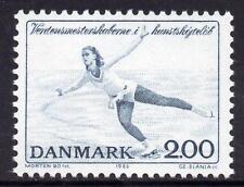 Dinamarca estampillada sin montar o nunca montada 1982 campeonatos mundiales de patinaje