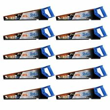 "10x Bahco 20""/500mm 244 Hard Point Universal Wood/Timber Cutting Hand Saw MEDIUM"