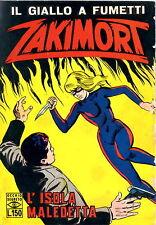 FUMETTO - Il giallo a fumetti Zakimort - L'isola maledetta - 1968