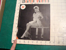 SKATING VANITIES of 1942, 16 pages including covers, neat