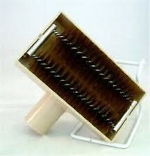 Window Screen Brush with Vacuum Attachment