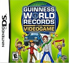 Guinness World Records The Videogame DS NEW! DSI, LITE, XL, 3DS! FUN FAMILY GAME