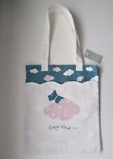 RADLEY DOG - EVERY CLOUD - COTTON CANVAS TOTE / SHOPPER BAG WITH FRONT POCKET