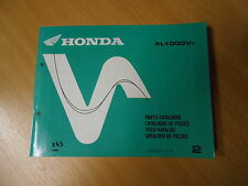 Manuale officina quota catalogo Honda XL 1000 V (X) Varadero (SD01) Mod. 1999