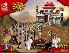 New Affordable Lego Compatible brick set. Medieval Castle Warriors set by Sluban