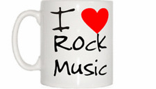 I Love Heart Rock Music Mug