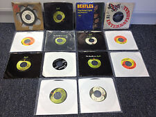 BEATLES 45RPM RECORD COLLECTION ~ 14 RECORDS ~ Revolution / Lady Madonna