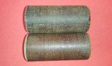 2 Stk. Pertinax Hartgewebe Buchse Orig.Teil neu L 78mm x 36,4mm x 28mm IFA DDR