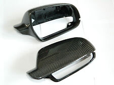 AUDI A5 8T A4 B8 A3 8P Carbon Spiegel Cover Spiegelkappen Mirror Replacements